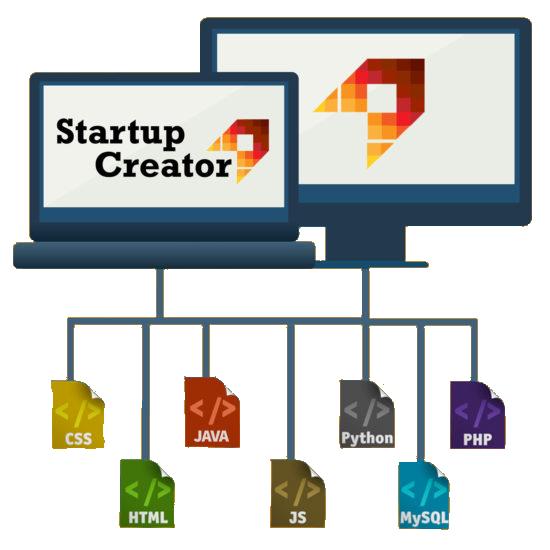 Startup Creator - Coding Languages